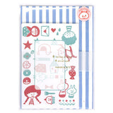 Mizutama Toy Box Letter Set Writing Papers & Envelopes