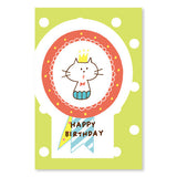 Mizutama Happy Birthday Greeting Card