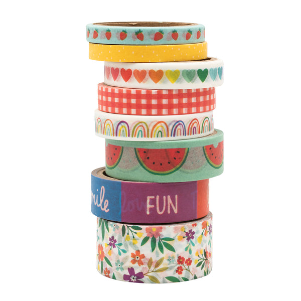 Amy Tan Picnic In The Park Washi Tape 8/Pkg