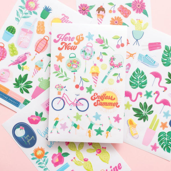 Dear Lizzy Here & Now Sticker Book 154pcs