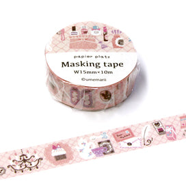 Girly Time umemarii Japanese Washi Tape
