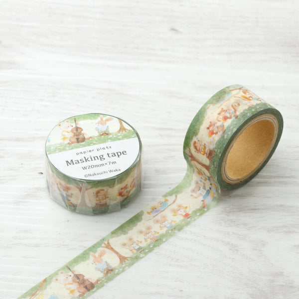 Music Band Washi Tape Nakauchi Waka