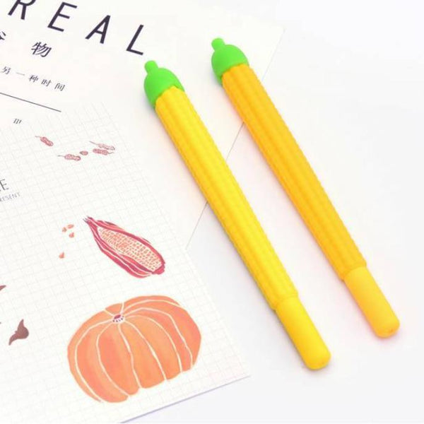 These corn pens are perfect for planning, for work, home, desk or for school. They will be a beautiful addition to your pen collection!