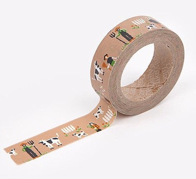 Farm Washi Tape