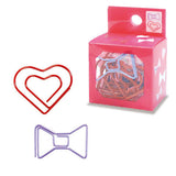 Bow Tie & Hearts Paper Clips (14pcs) Mind Wave Girl Paper Clips