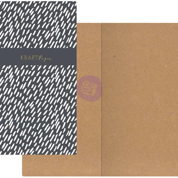 Dashes with Kraft Paper Prima Traveler's Journal Notebook Refill 32 Sheets