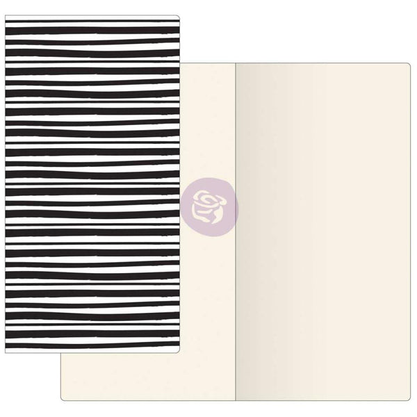 Inkie with Ivory Paper Prima Traveler's Journal Notebook Refill 32 Sheets