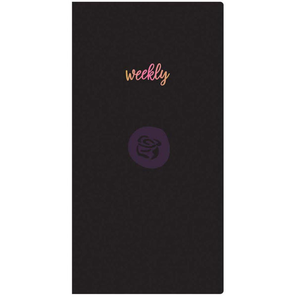 Weekly with White Paper Prima Traveler's Journal Notebook Refill 32 Sheets