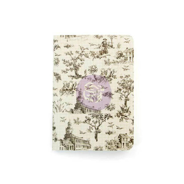 Notebook Inserts Passport Size Oh Toile. Make more room for your adventures with these Notebook Inserts for your Prima Traveler.