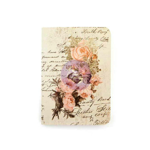 Notebook Inserts Passport Size Dusty Roses. Make more room for your adventures with these Notebook Inserts for your Prima Traveler