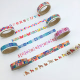 Dog Japanese Washi Tape Aimez