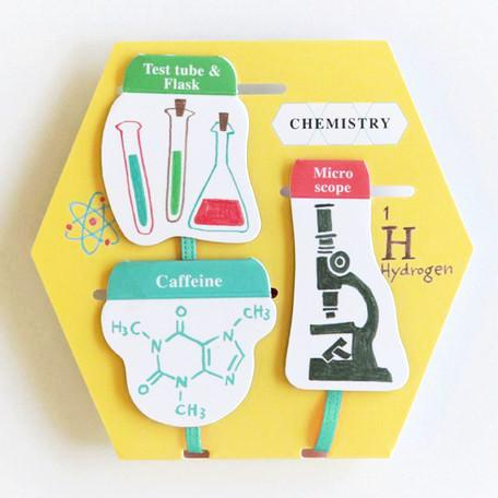 Chemistry Magnet Book Marker Study Holic