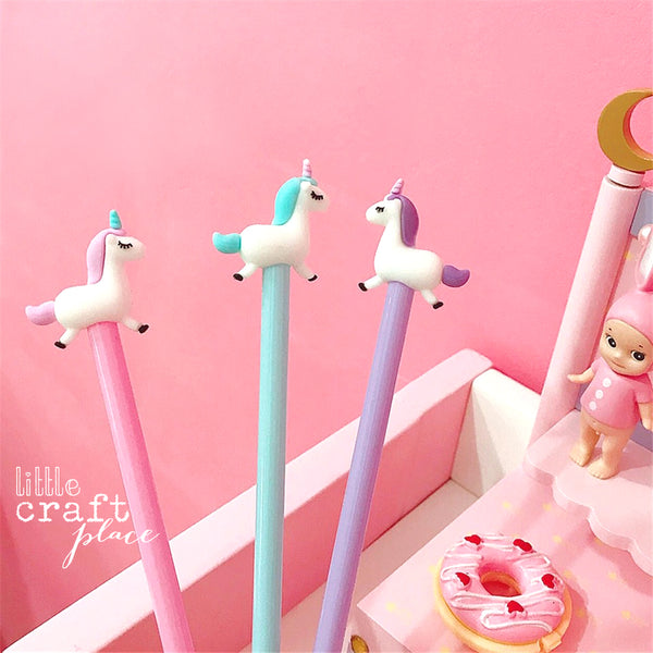 These Dreamy Unicorn Pens are perfect for planning, for work, home, desk or for school. They will be a beautiful addition to your pen collection!