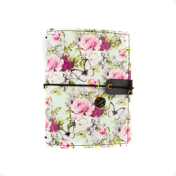 Coordinating with the Misty Rose Collection these adorable Covers are perfect for all of your travels! Simply add your favorite notebooks and you are ready to document the everyday.