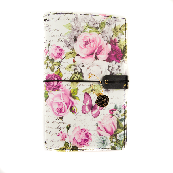 "Misty Rose PTJ Prima Traveler's Journal Personal Size 5""X7.5"""
