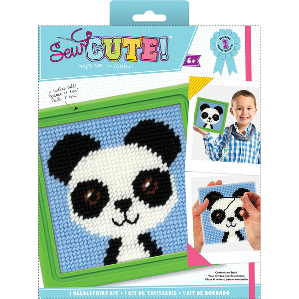 Paul Panda Sew Cute! Needlepoint Kit