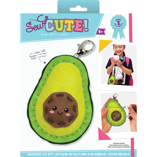 Avocado Sew Cute! Mini Felt Kit