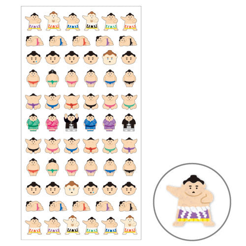 Sumo San Sticker Mind Wave Seals Sticker