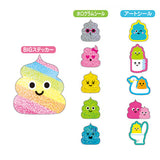 Poopy Friends Flake Sticker (71 pieces) Mind Wave Favorite Seal