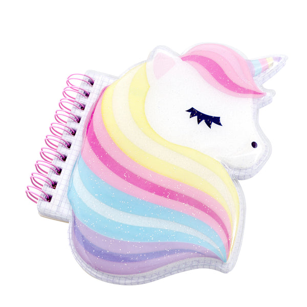 Unicorn Squishy Notebooks