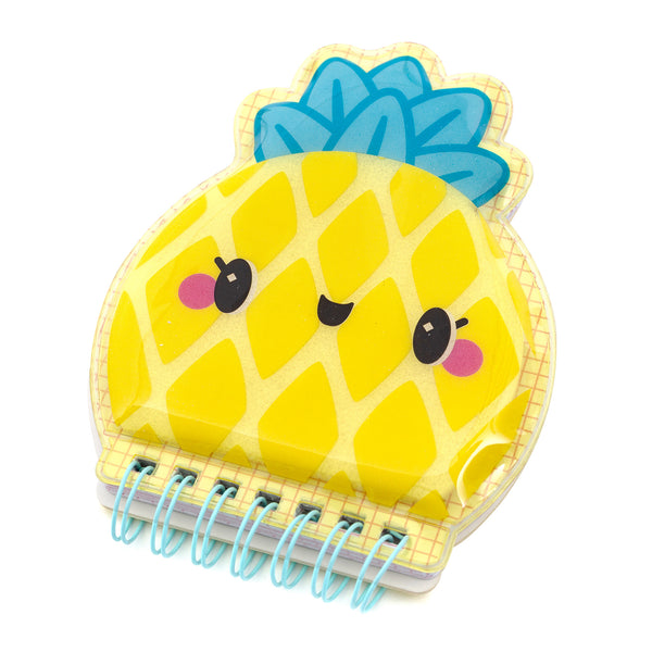 Pineapple Squishy Notebooks