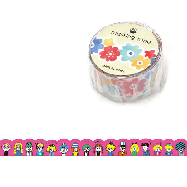 Party Peepo Masking Tape • Japanese Washi Tape Die Cut Tape