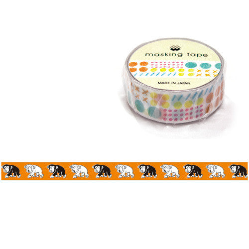 Saru Saru Chimpanzee Washi Tape • Mind Wave Japanese Washi Tape