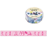 The Wonderland Of Alice Fannie Pink Washi Tape • Mind Wave Japanese Washi Tape