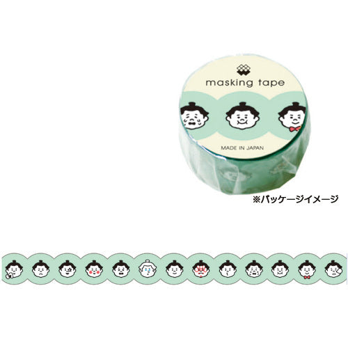 Sumo Wrestler Washi Tape • Japanese Washi Tape