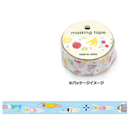 Swimming Washi Tape • Mind Wave Japanese Masking Tape