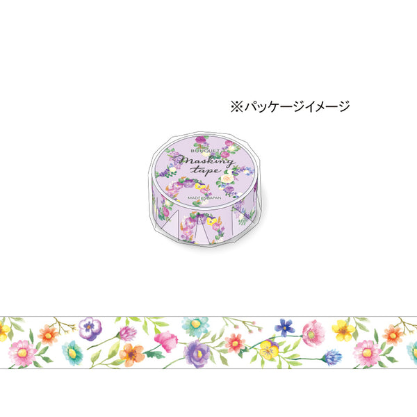 Floral Washi Tape Mutli Color Mind Wave