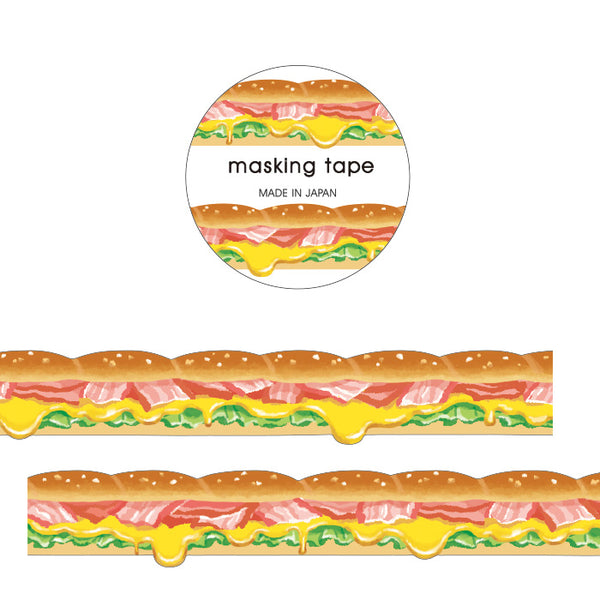 Sandwich Die Cut Japanese Washi Tape Mind Wave