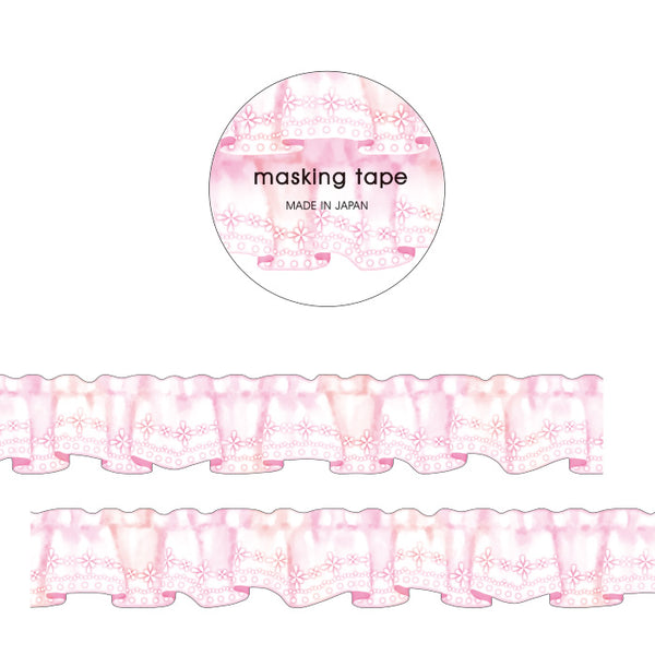 Curtain Die Cut Japanese Washi Tape Mind Wave