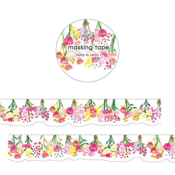 Flower Die Cut Japanese Washi Tape Mind Wave