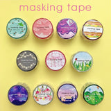 Galaxy Die Cut Japanese Washi Tape Mind Wave