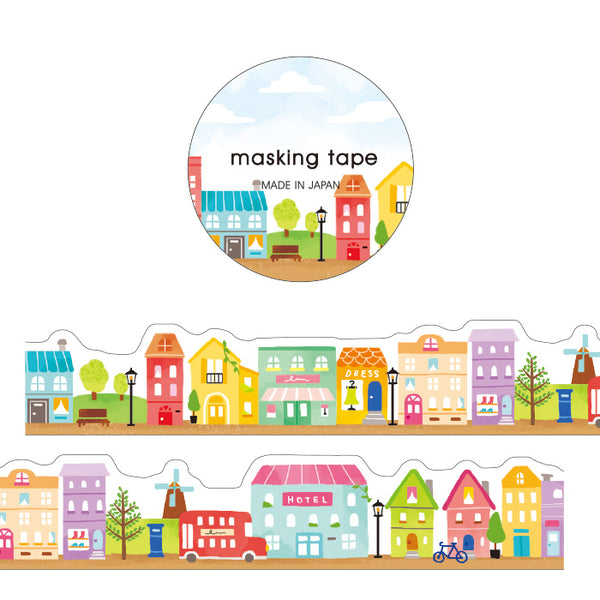 Mind Wave Scandinavia City / Street Shop Masking Tape
