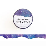Mind Wave Universe Paper Edge To Paste Washi Tape