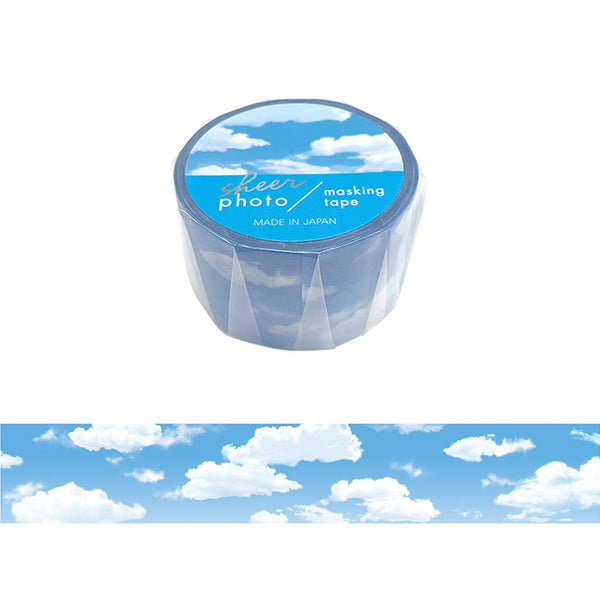Cloud Photo Washi Tape Mind Wave