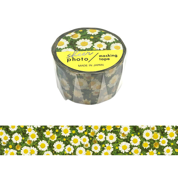 Chamomile Photo Washi Tape Mind Wave