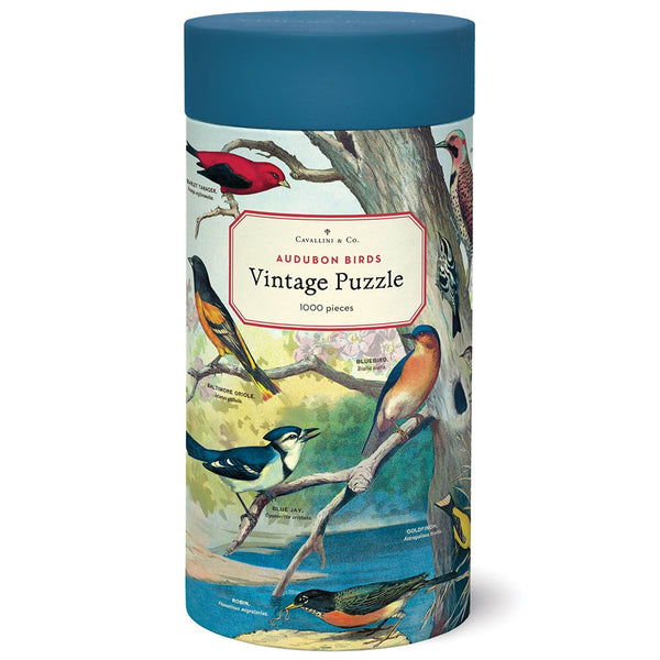 Cavallini & Co Audubon Birds 1000 Piece Puzzle