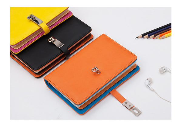 Orange Personal BINDER ONLY • Free Washi Tape with this order