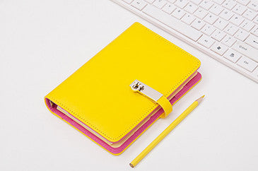 Yellow Personal BINDER ONLY • Free Washi Tape with this order