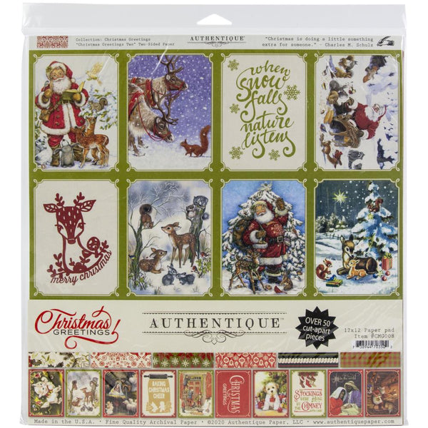 Christmas Greetings Collection 12 x 12 Collection Kit