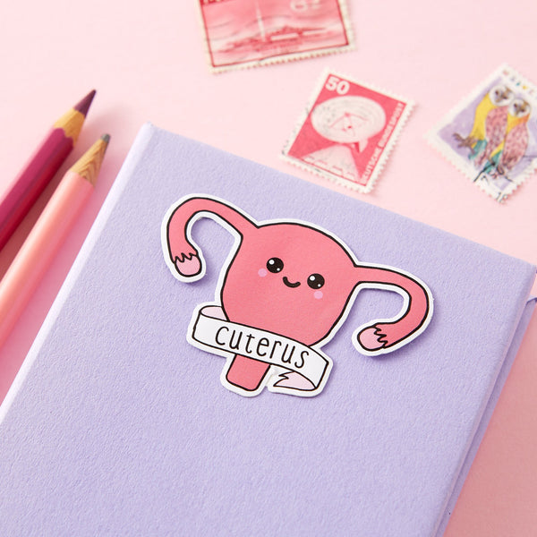 Cuterus Die Cut Vinyl Sticker