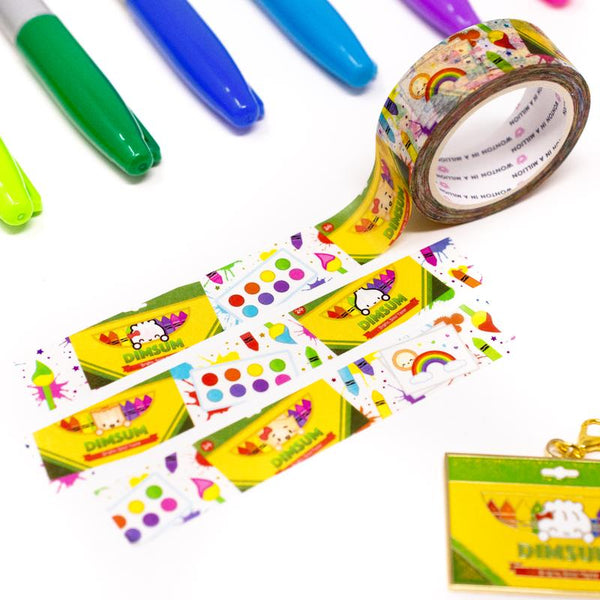 Back To School - Dimsum Of Art Washi Tape (15mm) Wonton In A Million