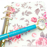 Little Craft Place Exclusive Heart Diamond Pens - Faith Hope Love
