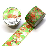 Shochikubai Kimono Japanese Washi Tape, Pine, Bamboo and Plum