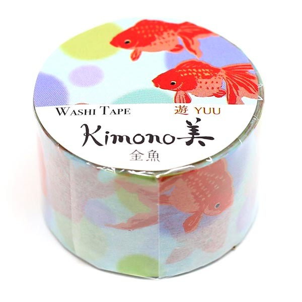 Gold Fish Japanese Washi Tape SAIEN