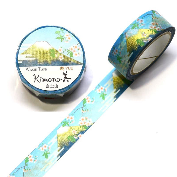 Japan Mt. Fuji Fuji Mountain Japanese Washi Tape.