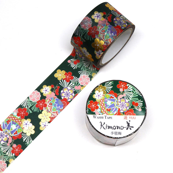 Temari Ume Japanese Foil Washi Tape